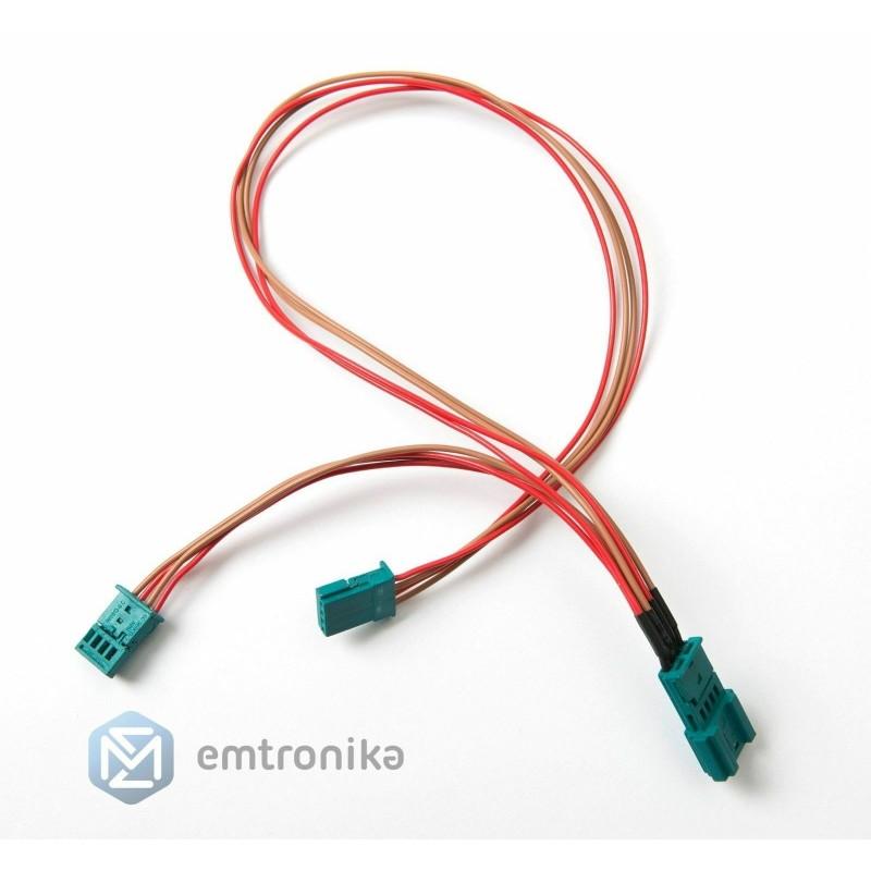 BMW F10 F15 F07 F20 F25 F30 EVO touch controller ECU Y splitter cable adapter
