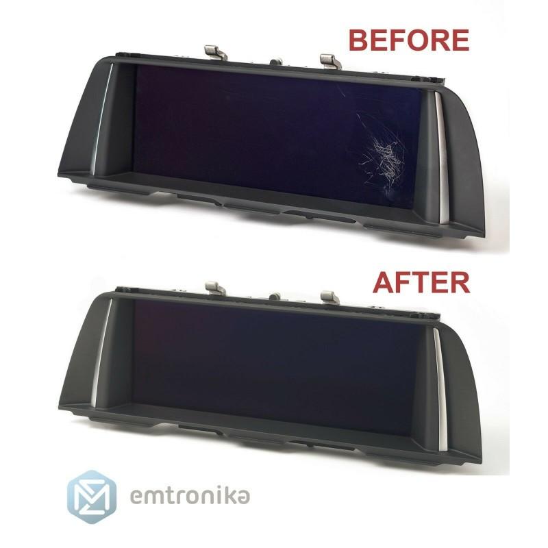 BMW CIC NBT E60 E70 E90 F10 F25 LCD monitor display refurbishing repair service