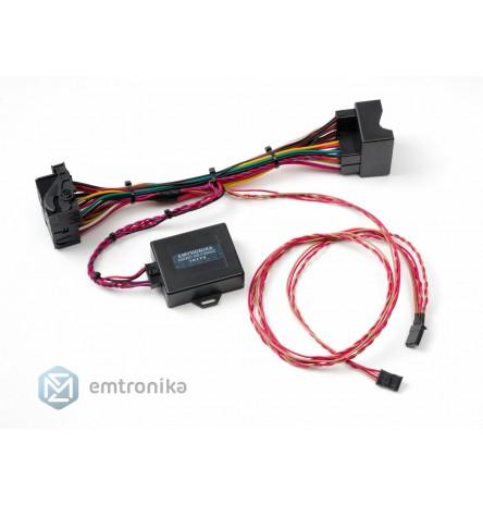 Plug and play BMW F10 F20 F30 F25 NBT EVO retrofit navi adapter emulator touch