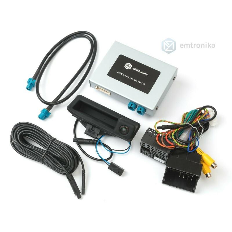 BMW Reversing backup camera retrofit 3AG E88 E90 E84 E70 CIC MID 1 3 5 X1 x5