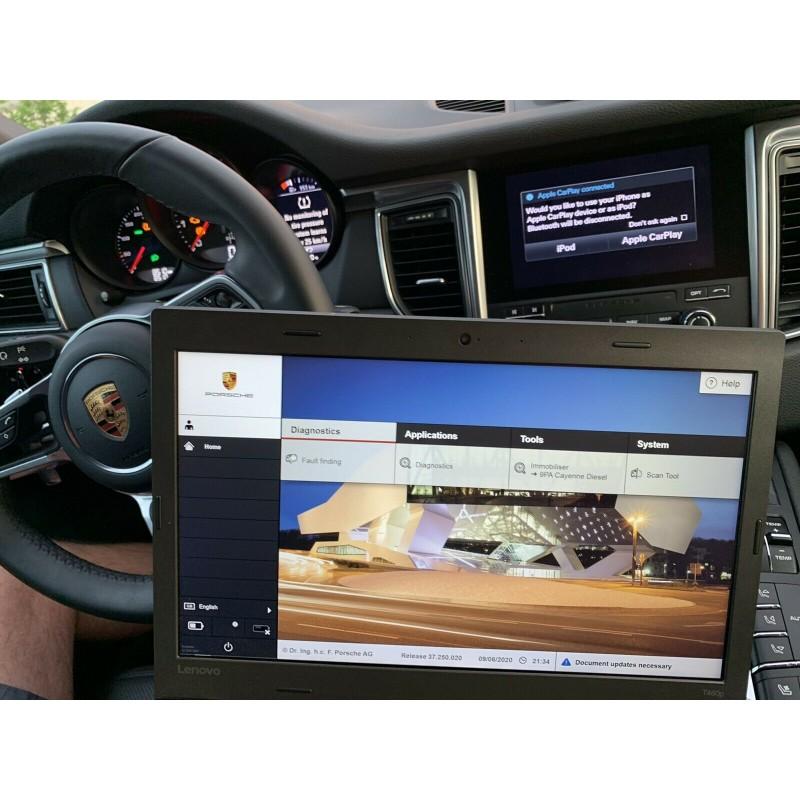 Porsche Piwis 3 Iii Diagnostic Car Coding Scanning System