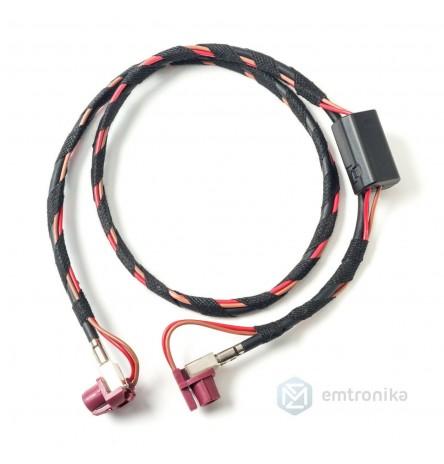 BMW F10 F25 F30 F15 NBT EVO CID display Video cable retrofit voltage adapter